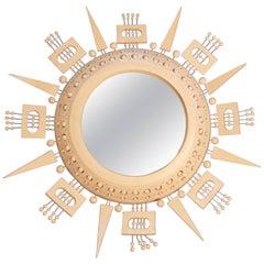 Georges Pelletier Fantastic Ceramic Mirror