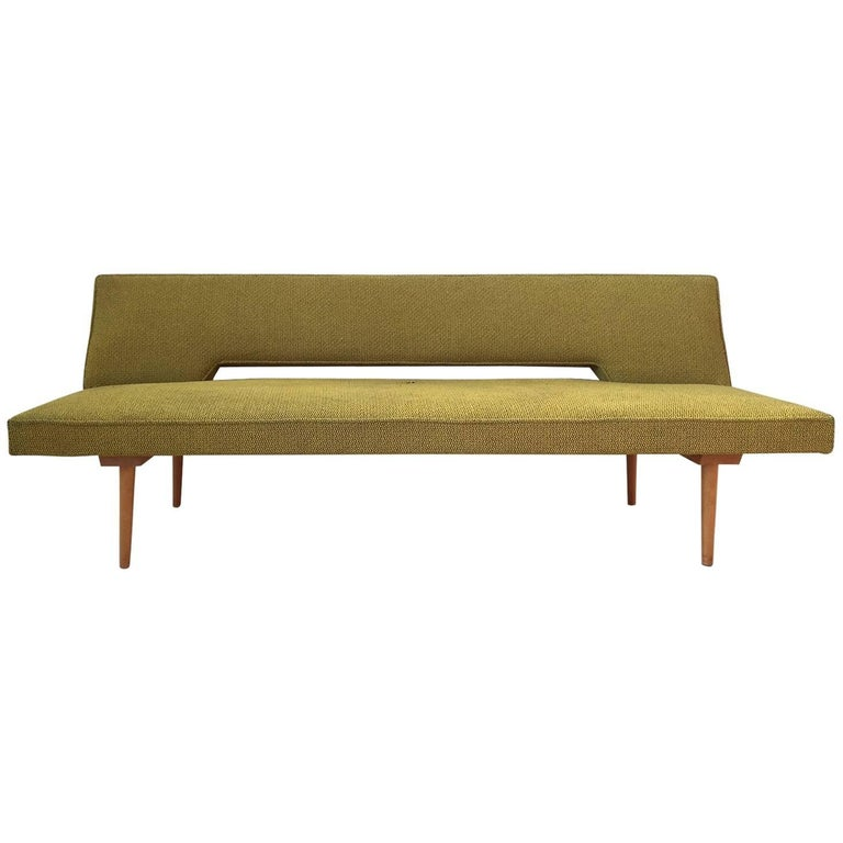 Czechoslovakian Sofa, Sleeper Sofa, Daybed by Miroslav Navratil ...
