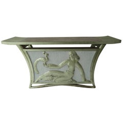 T.H. Robsjohn-Gibbings Lydia Console Table