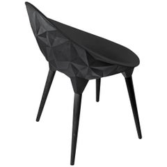 Rock Dining Chair by Diesel for Moroso in Black, White or Grey