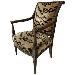 Yale R. Burge Directoire-Style Armchair