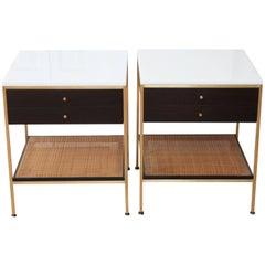 Paul McCobb Pair of Nightstands Side Tables