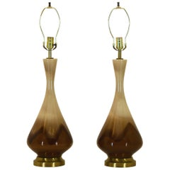 Pair of Royal Haeger Genie Lamps