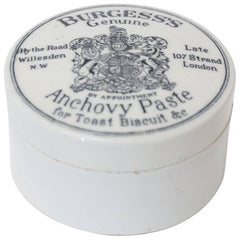 English Anchovy Paste Pot