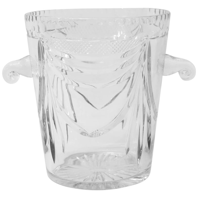 Crystal Champagne Bucket from France