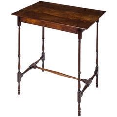English 18th Century George III Chippendale Spider Leg Mahogany Side Table
