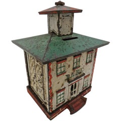 """Cupola"" Building Still Bank by Vermont Novelty Works, American, circa 1869"