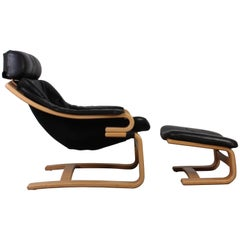 "Pair of Midcentury ""Apollo"" Chairs by Åke Fribytter for Skipper Furniture"