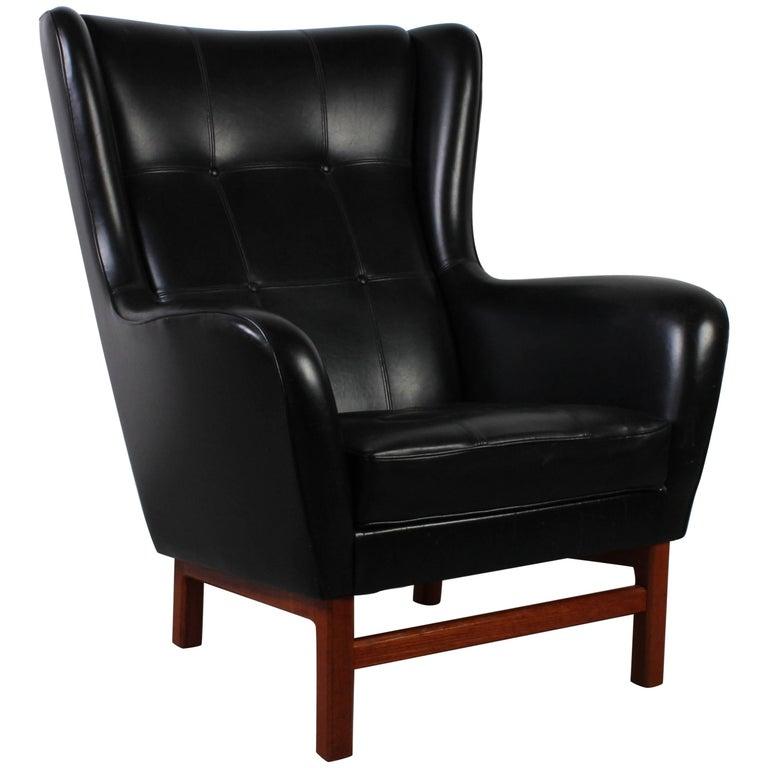 Midcentury Lounge Chair by Bröderna Andersson