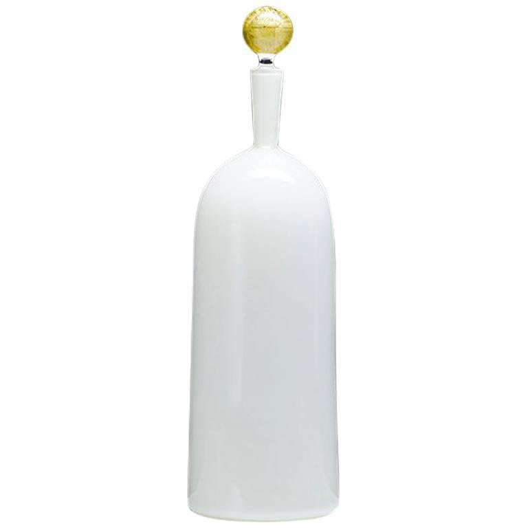 Carmella Barware Tall Bottle, Ivory