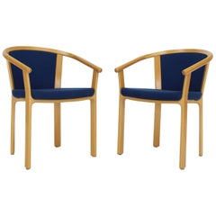 Pair of Danish Modern Barrel Back Chairs