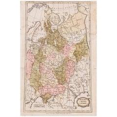 1806 Brightly and Kinnersley Map of Euro Russia