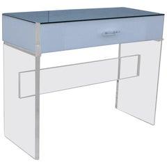 1970s Lucite Desk