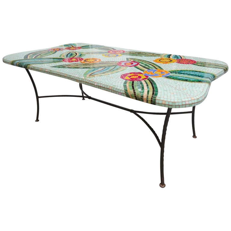 ON SALE NOW! Colorfully Beautiful Mosaic Custom Dining Table