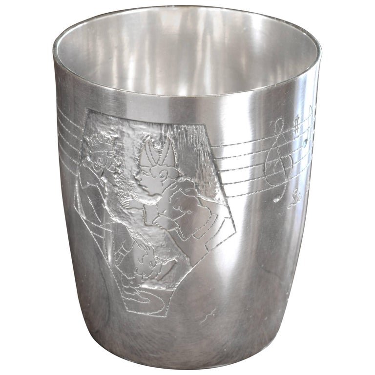 Vintage Child's Silver Cup