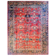 Amazing Early 20th Century Lilihan Rug