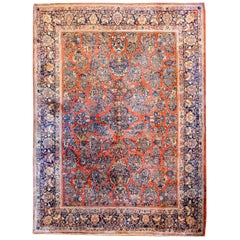 Wonderful Early 20th Century Sarouk Rug