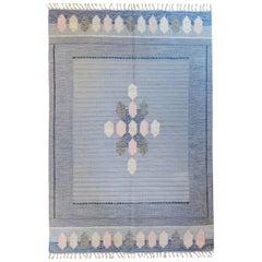 Wonderful Vintage Swedish Kilim Rug