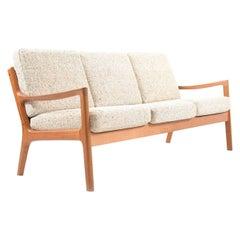 Senator Three-Seat Sofa in Teak by Ole Wanscher