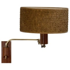 1960s Articulated Swing Arm Wall Light