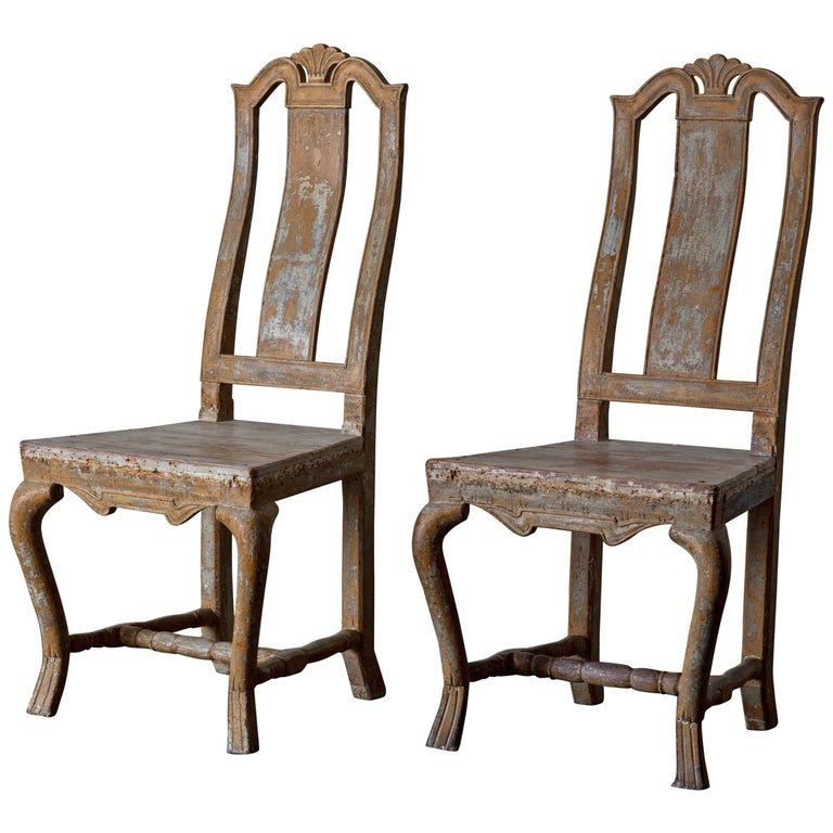 Chairs Side Chairs Swedish Baroque 18th Century Sweden For Sale At