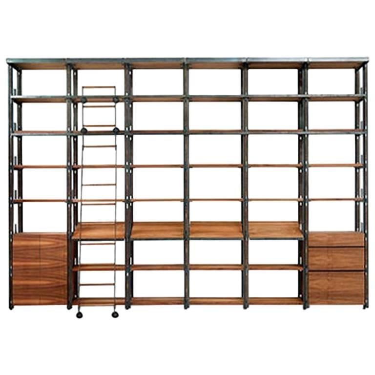 """""""Tecnica Library"""" Modular Shelving Bookcase by Jaume Tresserra for Dessie'"""