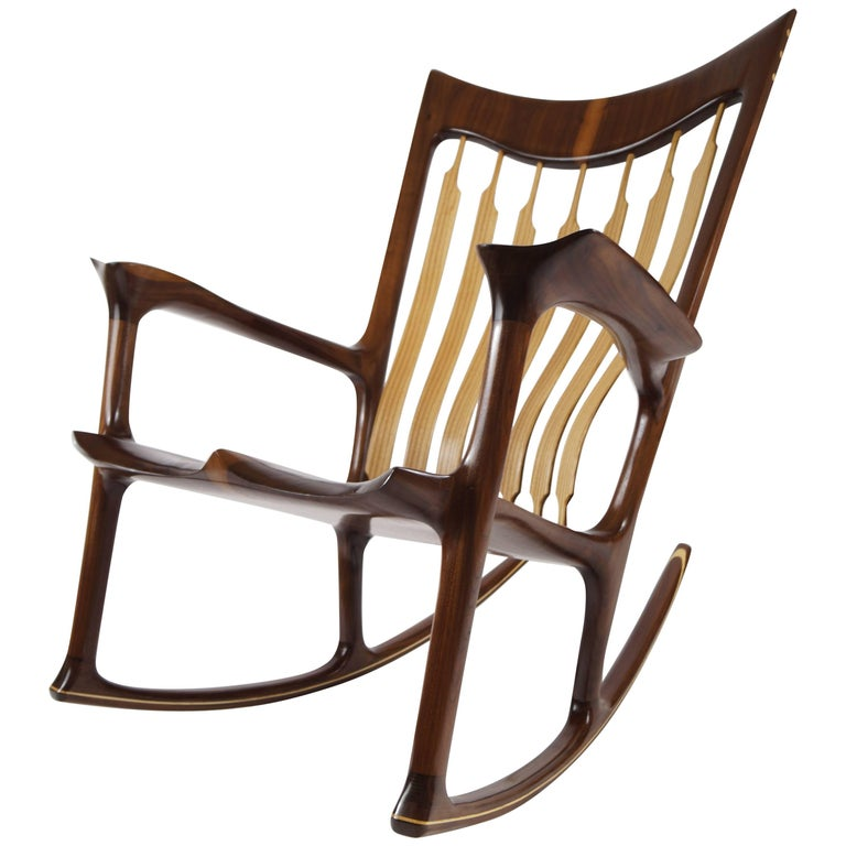 Rocking Chair, Handcrafted and Designed by Morten Stenbaek