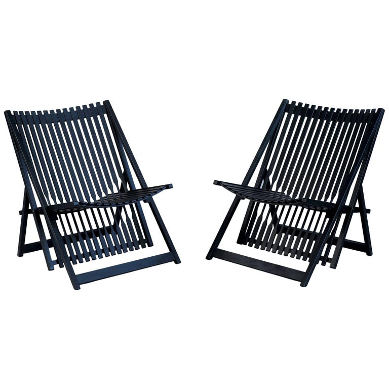 Jean-Claude Duboys, Pair of A1 Armchairs, France, 1980 For Sale