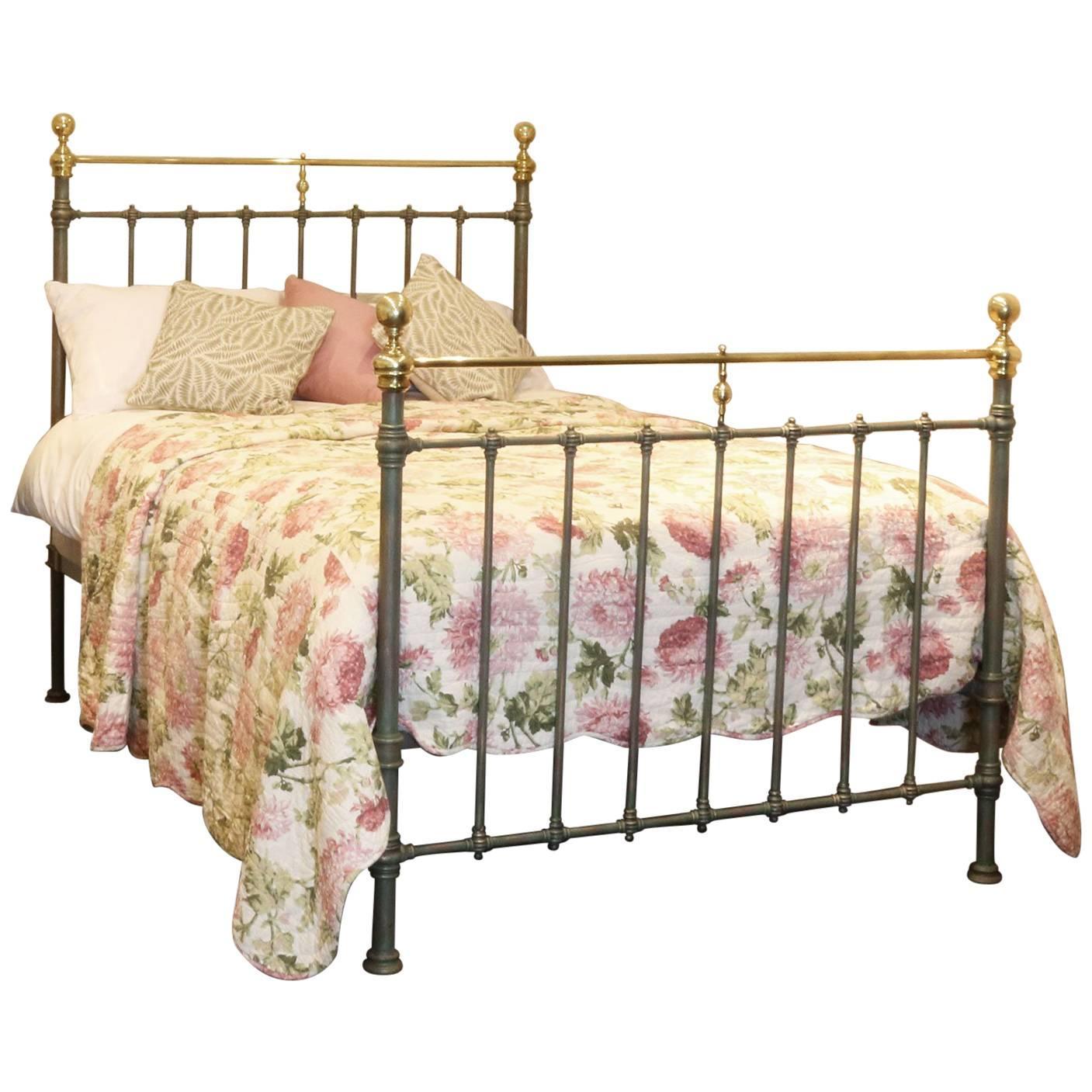 double green verdigris bed
