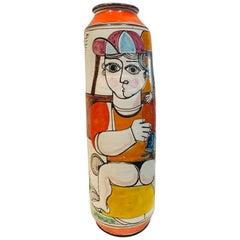 Giovanni Desimone Pottery Vase, 1960s Ceramic