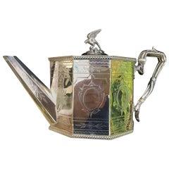 19th Century Silver Plated Tea Service, English, circa 1890