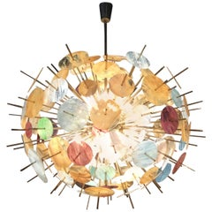 """Big Bang"" Murano Glass Chandelier"
