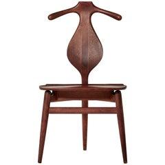 Hans Wegner Valet Chair, Made by Johannes Hansen, Denmark, 1950s-1960s
