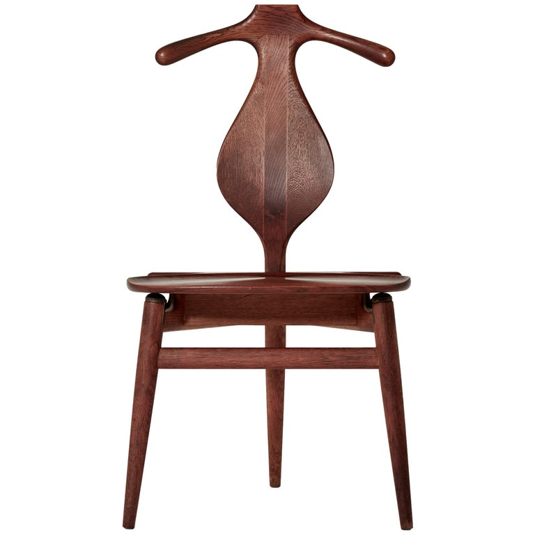 Hans Wegner Valet Chair, Made by Johannes Hansen, Denmark, 1950s-1960s