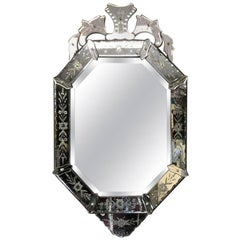 Impressive Antique Venetian Mirror