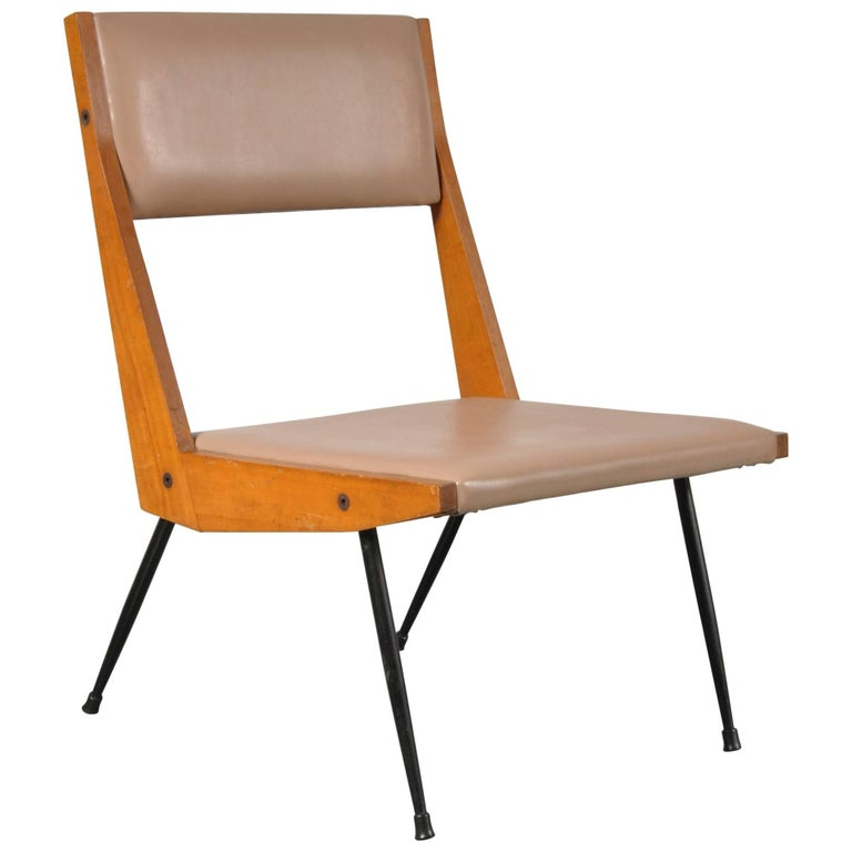 Carlo di Carli attributed Easy Chair, Italy, 1950s For Sale