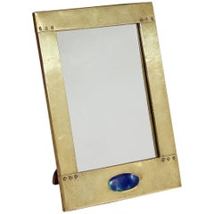 Small Rectangular Easel Mirror in the Manner of Liberty & Co