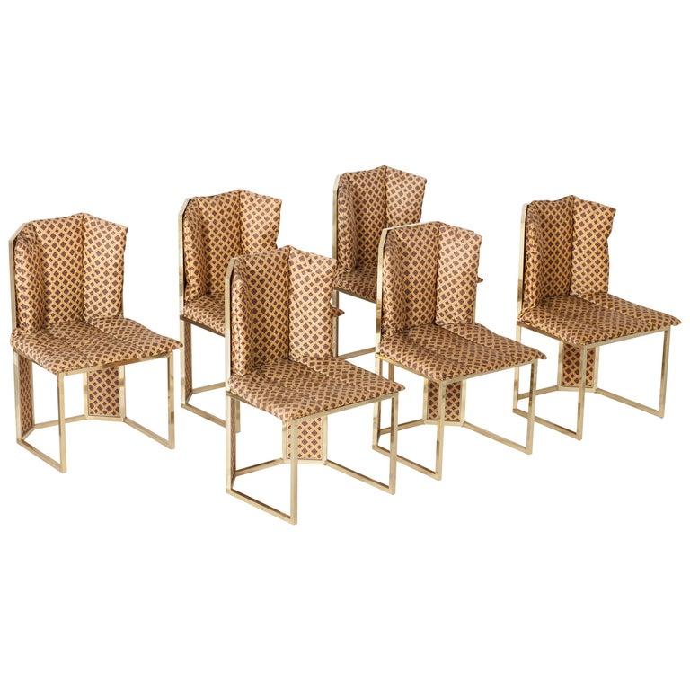1970s Italian Dining Chairs Romeo Rega