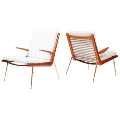 Peter Hvidt & Orla Mølgaard Nielsen FD-159 Boomerang Chair, circa 1959