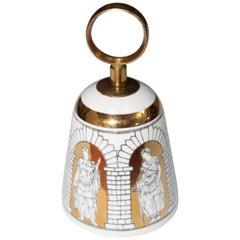 1950s Piero Fornasetti Porcelain Bell