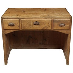 French Desk in Pine, circa 1950