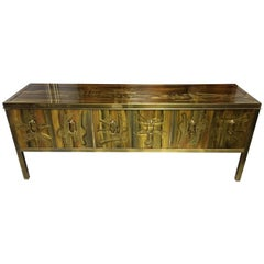 Mastercraft Abstract Sideboard Console by Bernhard Rohne