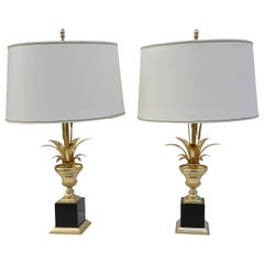 Pair of Maison Charles Table Lamps, France, 1960s