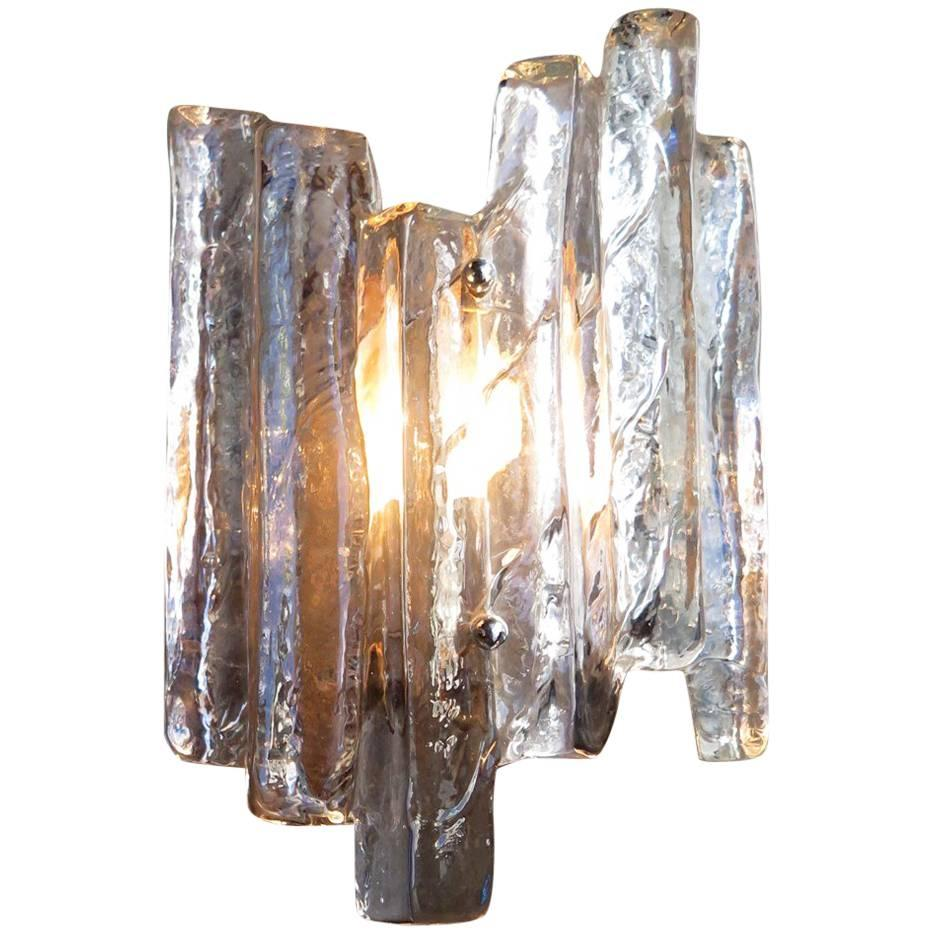 Brutalist Thick Glass Wall L&  sc 1 st  1stDibs & Brutalist Wall Lights and Sconces - 81 For Sale at 1stdibs azcodes.com