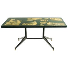 Fabulous Coffee Table by Fornasetti, Italy, 1960s-1970s