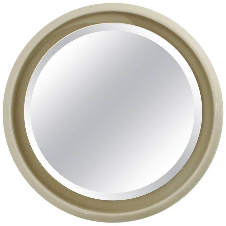 Italian Backlight Round Mirror