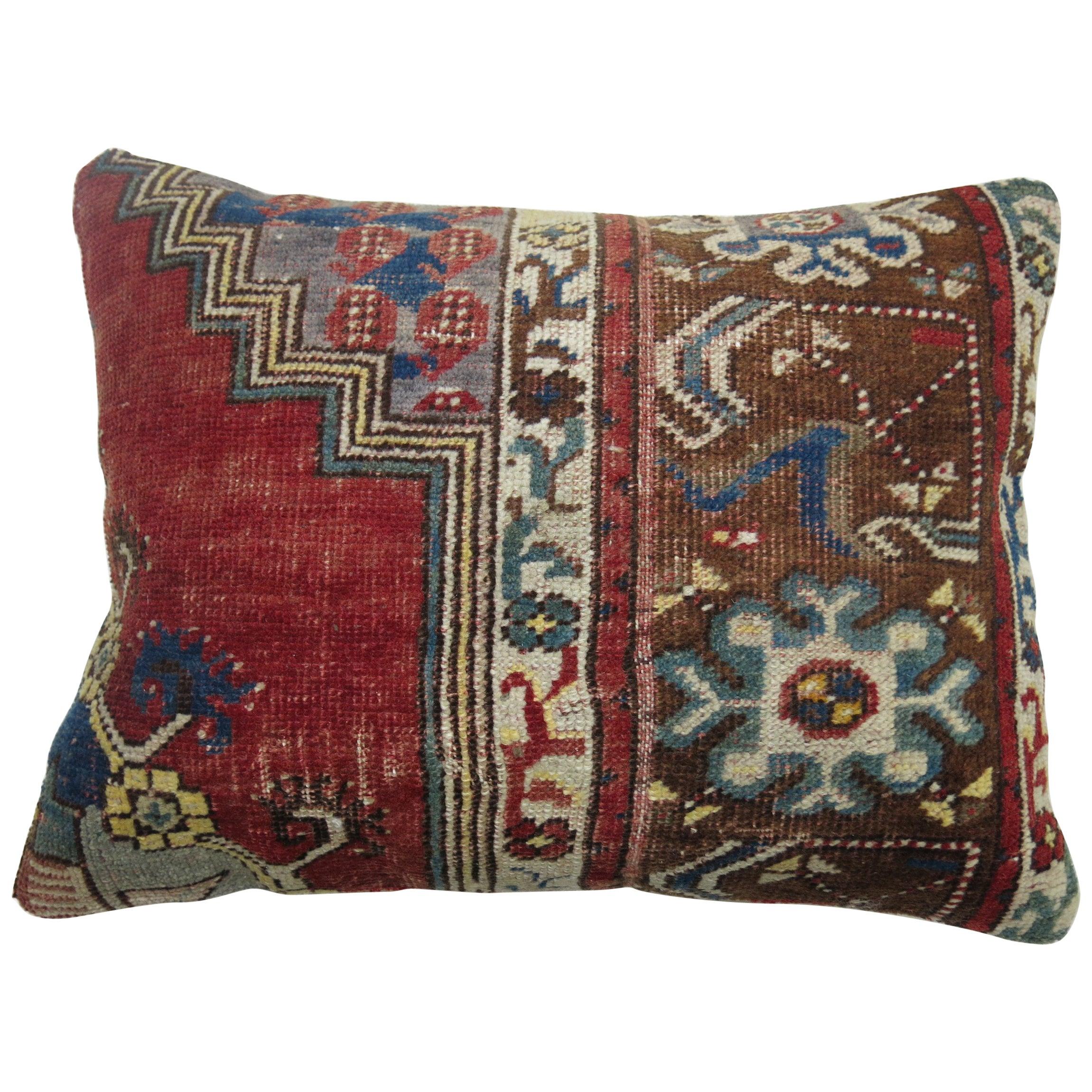 Traditional Turkish Rug Pillow