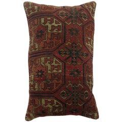 Lumbar Turkeman Rug Pillow