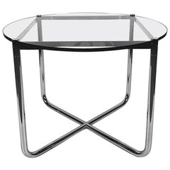 Vintage MR Side Table by Ludwig Mies van der Rohe for Knoll, 1970s