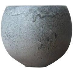 Kasper Würtz One off Small Planter Dark Grey Glaze
